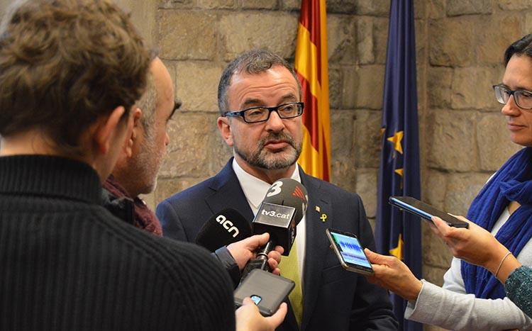 El conseller Alfred Bosch inaugurarà la Catalan House a Londres