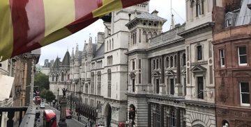 El TSJC desestima tancar cautelarment les delegacions catalanes de Berlín, Londres i Ginebra
