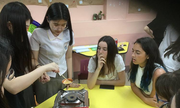 L'Institut Pompeu Fabra de Martorell participa en un intercanvi cultural a Corea