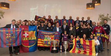 Nàpols desferma la passió pel Barça al sud d'Itàlia