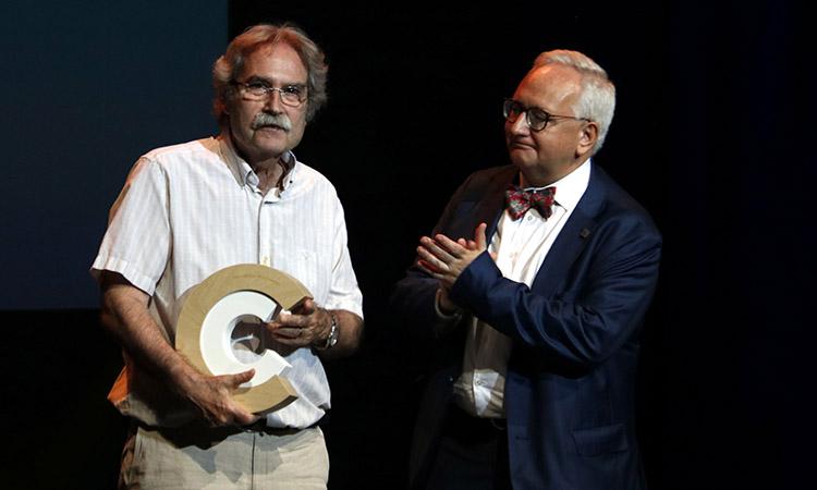 L'escriptor Jaume Cabré participa al cicle 'Diàlegs NACS', als Estats Units