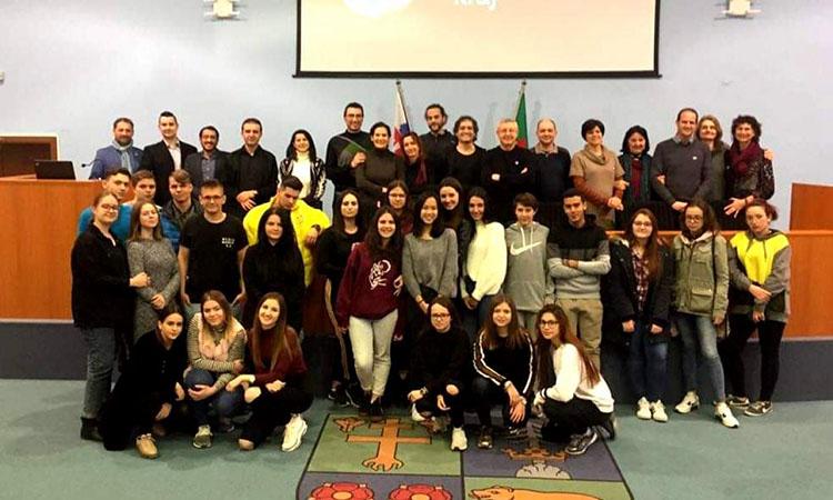 L'Institut manresà Guillem Catà participa en un projecte d'Erasmus a Eslovàquia