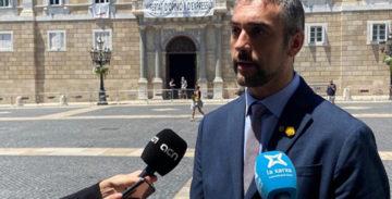 """Bernat Solé: """"Les portes del país segueixen obertes amb plena normalitat"""""""