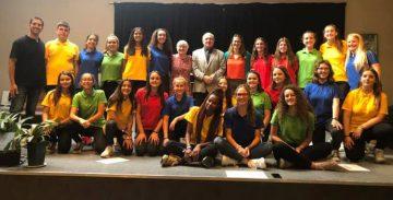El Cor Jove Nou Horitzó de Sant Vicenç de Castellet actua a Le Cercle de Brussel·les