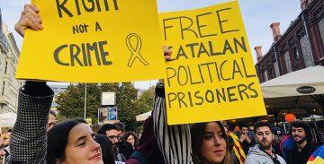 Les comunitats catalanes d'EUA traslladaran una petició als senadors nord-americans contra la sentència