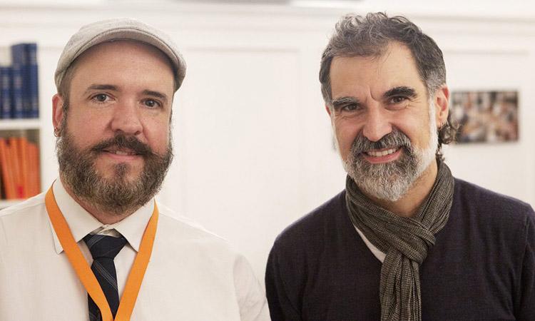 """Chartrand: """"Cuixart atrapa a molta gent diversa d'arreu del món al procés català"""""""
