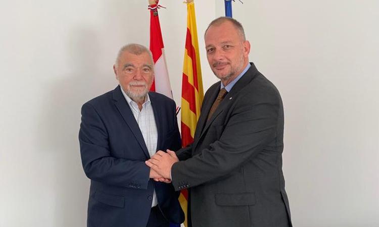 """Eric Hauck: """"A Bòsnia, la cooperació amb Catalunya ha demostrat ser el motor de canvi més eficaç"""""""