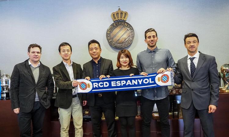 El RCD Espanyol obrirà una acadèmia a Shangai