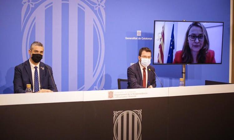 Catalunya lidera una iniciativa de les regions europees sobre la recuperació post-Covid