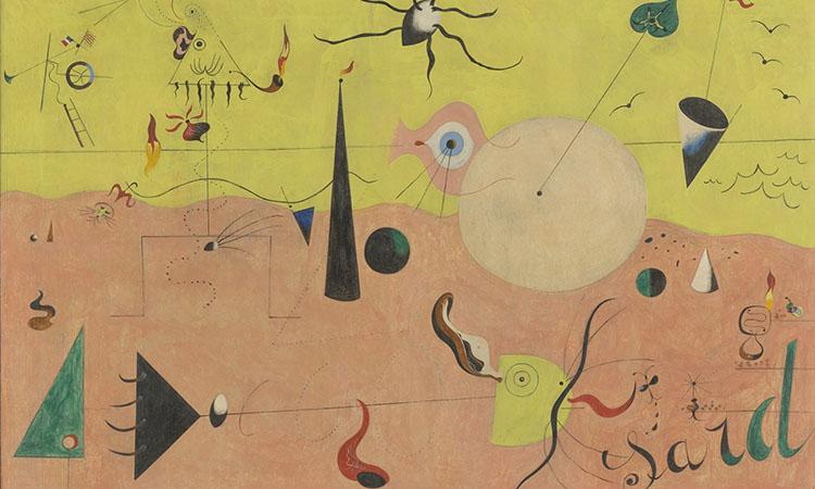 """El MoMA de Nova York mostrarà """"El naixement d'un món"""", de Joan Miró"""