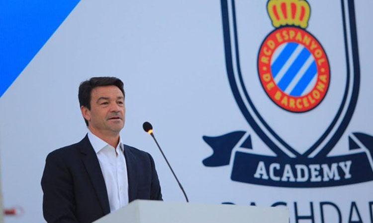 L'Acadèmia del RCD Espanyol a Baghdad, millor projecte esportiu del 2018 a l'Iraq