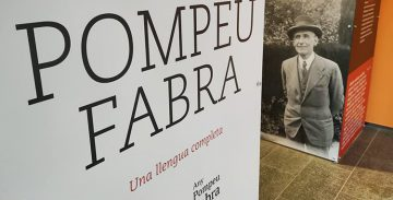 Perpinyà acull l'exposició 'Pompeu Fabra. Una llengua completa'