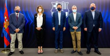 El Barça, l'Ajuntament i la Generalitat promocionaran Barcelona i Catalunya al  món