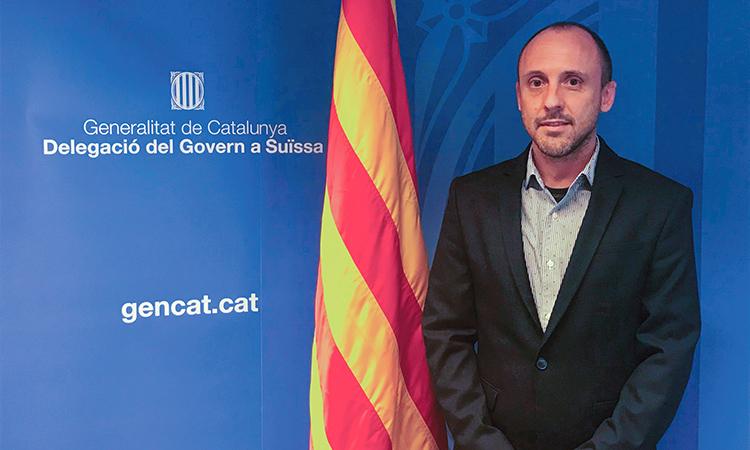 """Gabriel Boichat: """"L'acció bilateral entre Catalunya i Suïssa passa per la recerca, la salut i la cooperació"""""""