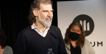 """Cuixart denuncia a 'The New York Times' que és un """"pres polític al cor d'Europa"""""""