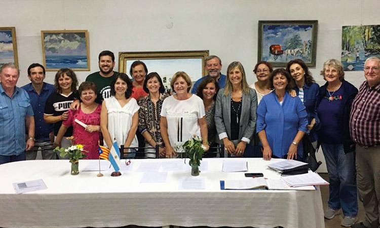 El Casal dels Països Catalans de La Plata renova la junta directiva