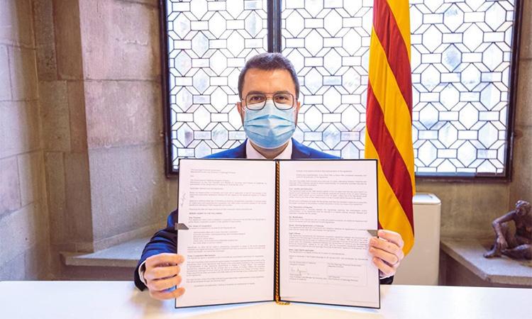 Catalunya consolida l'aliança estratègica amb la província coreana de Gyeonggi
