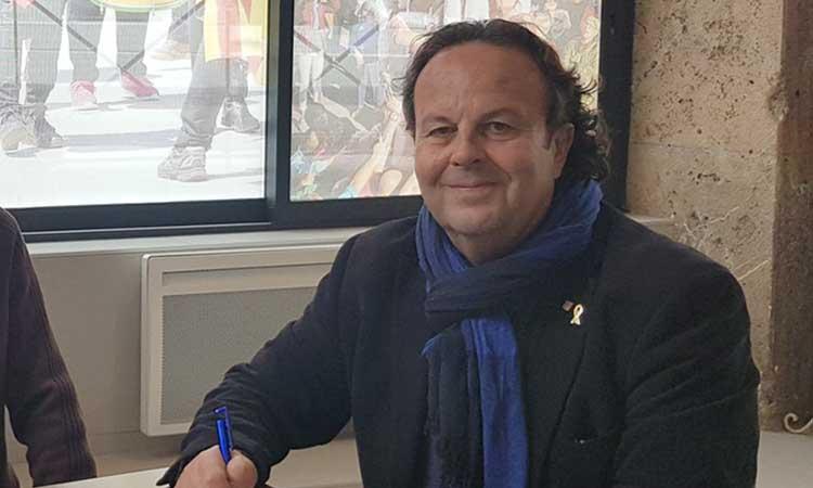 """Josep Puigbert: """"Perpinyà sempre ha estat un punt estratègic per a Catalunya"""""""