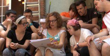 La directora catalana Mireia Ros presenta el documental 'Down n'hi do' a Berlín