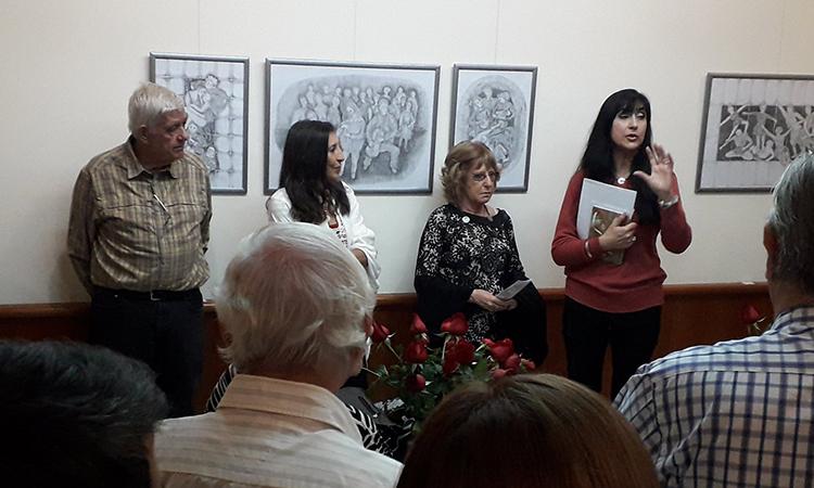 Les mostres d'art envaeixen el Centre Català de Rosario el mes de juliol