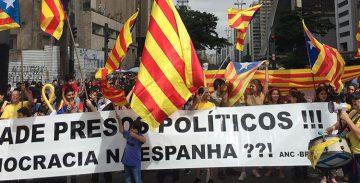 Més de 100 concentracions arreu del món reclamen una solució política per a Catalunya
