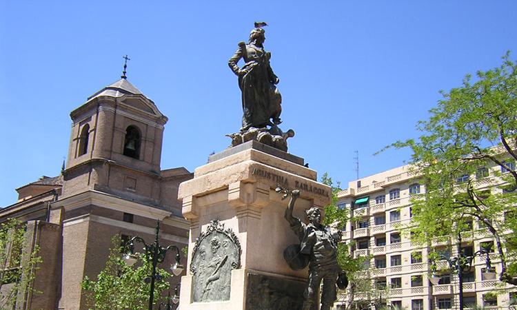 La Casa Catalana de Saragossa recordarà la canonada d'Agustina d'Aragó