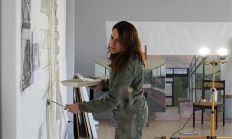 La barcelonina Bea Sarrias pintarà un mural a l'Otan
