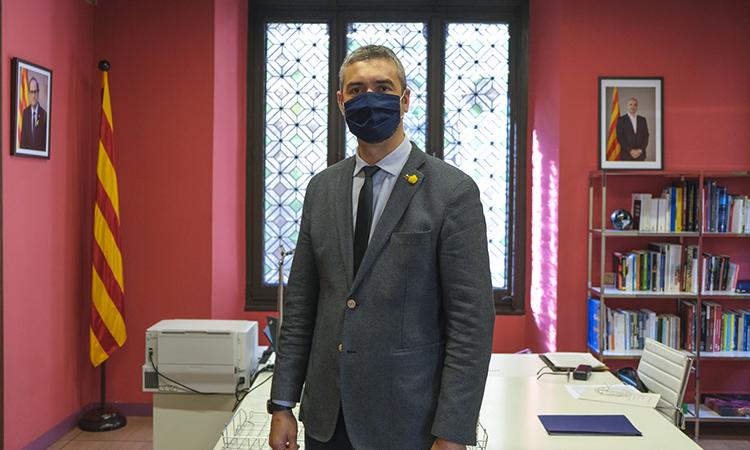"""Bernat Solé: """"Seguirem exigint la supressió del 'vot pregat' perquè els catalans d'arreu del món puguin votar"""""""