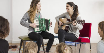 Nova York programa un taller de música en català per infants amb el grup Sonall