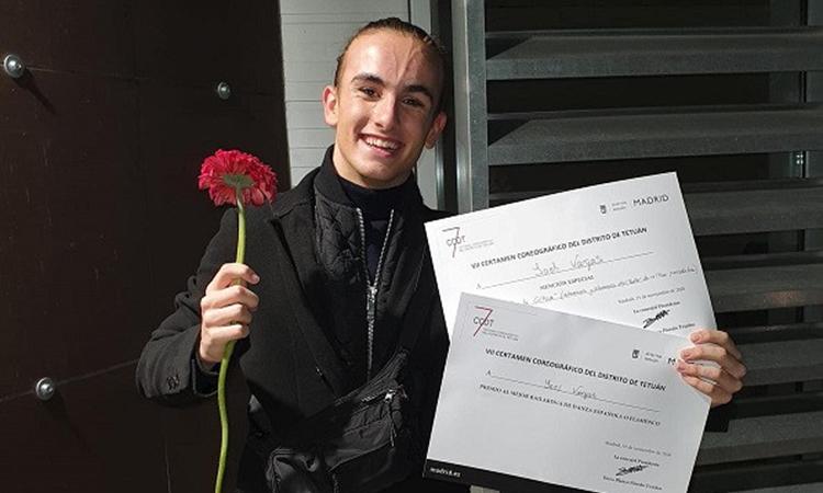 El tarragoní Yoel Vargas guanya el premi al millor ballarí de dansa espanyola a Madrid